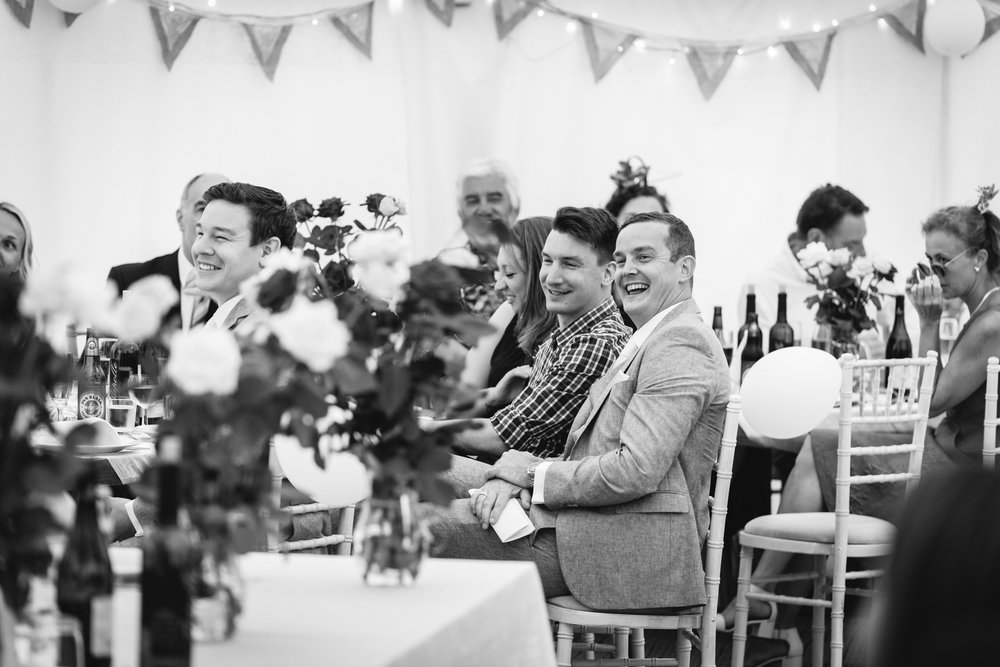 Copy of Guests during Wedding Speeches
