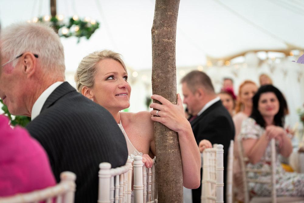 Copy of Bride during Groom Speech