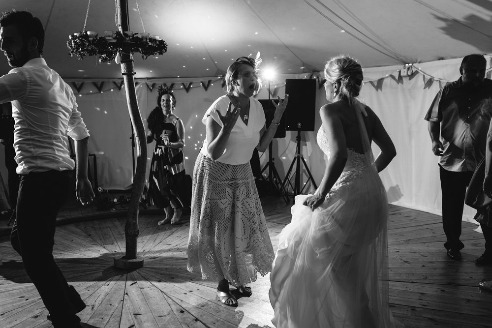 Copy of Bride & Guests Dancing at Wedding Party