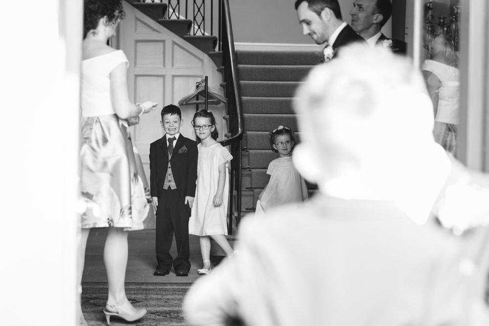 Steven Parry Photography / Paige Boy & Flower Girl / Garthmyl Hall
