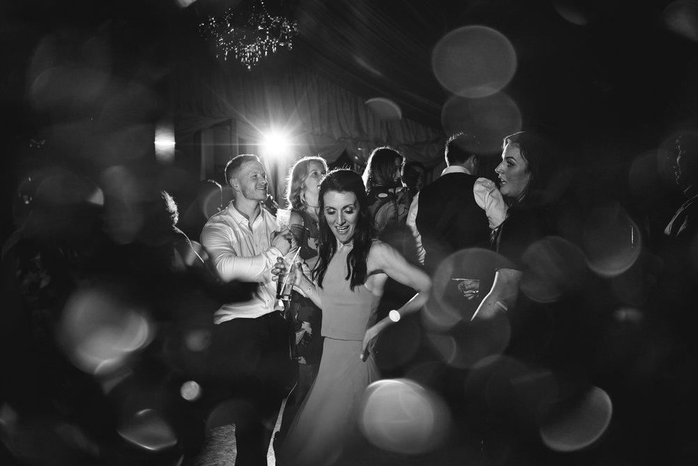 Steven Parry Photography / Bridesmaid Partying / Garthmyl Hall Wedding