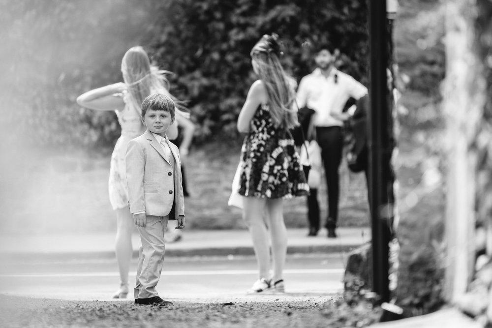 Steven Parry Photography / Bride & Groom's Son