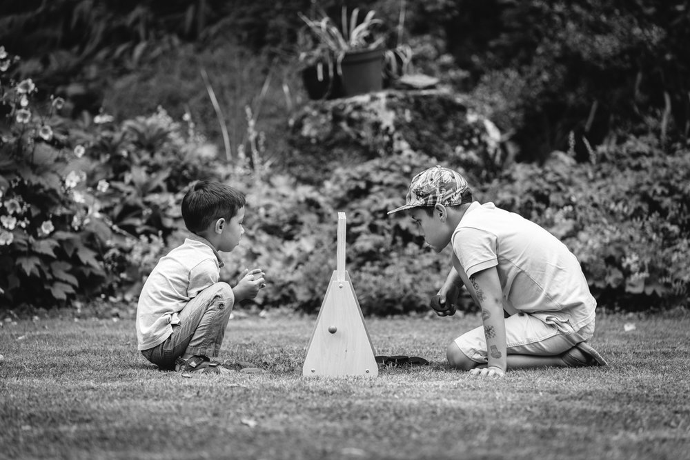 Steven Parry Photography / Children Playing Wedding Reception Games