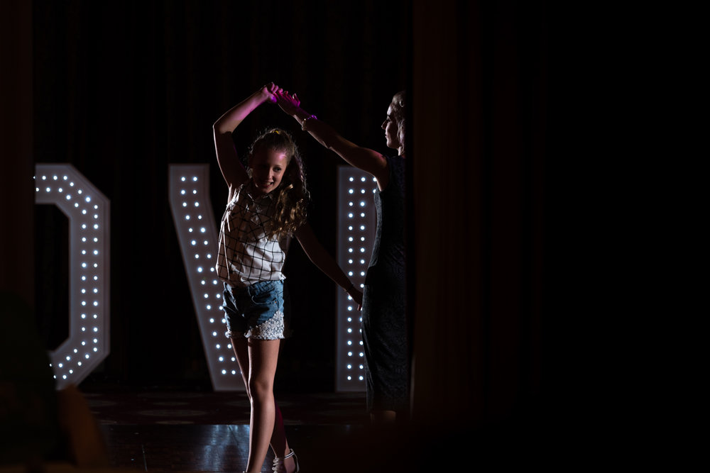 Steven Parry Photography / Girl Dancing at Wedding Party