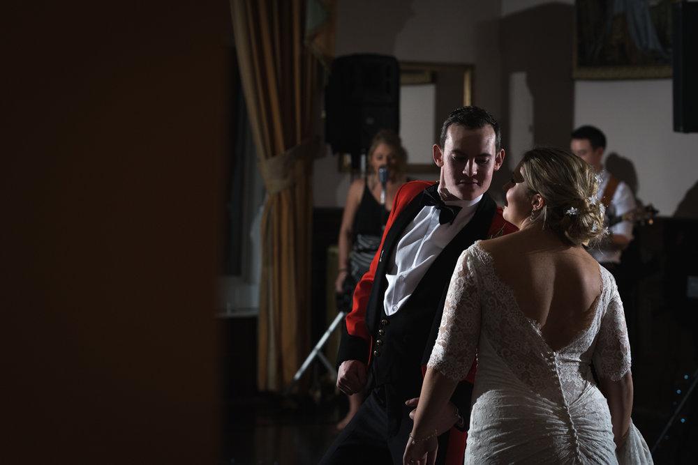 Steven Parry Photography / Bride & Groom Dancing / Craig Y Nos Castle