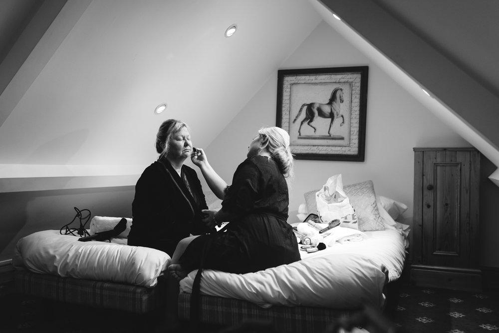 Steven Parry Photography / Bride & Mother Make-Up / Craig Y Nos Castle