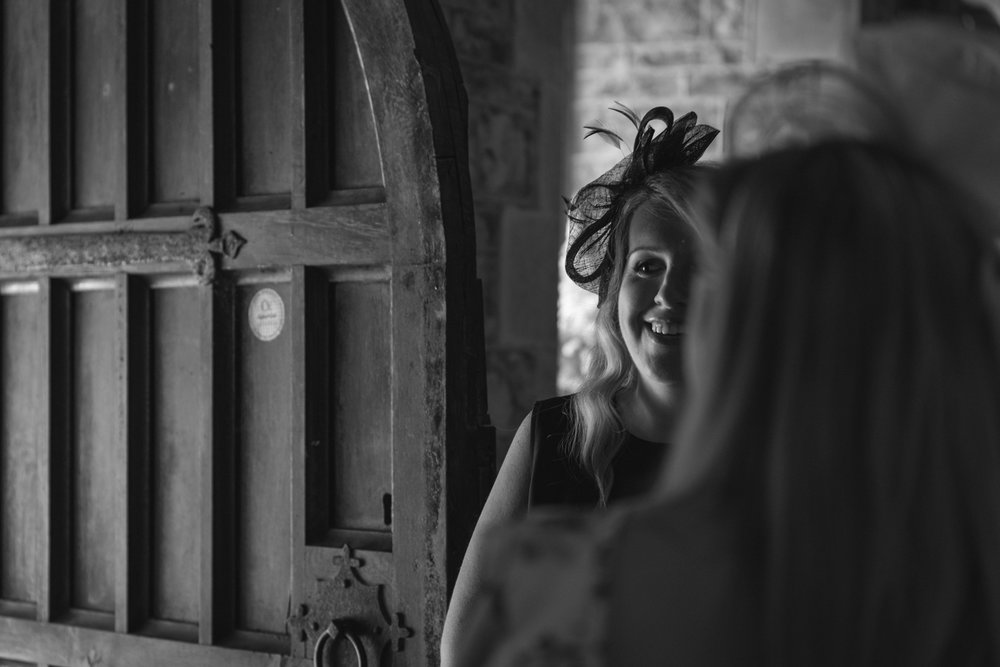Steven Parry Photography / Wedding Guest at Church