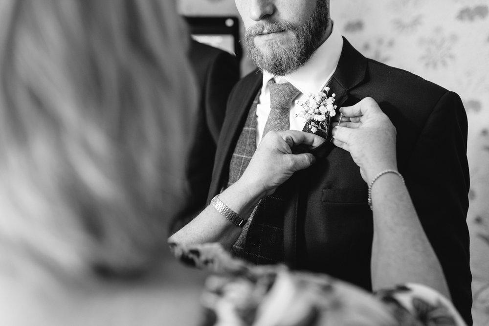 Steven Parry Photography / Wedding Button Hole