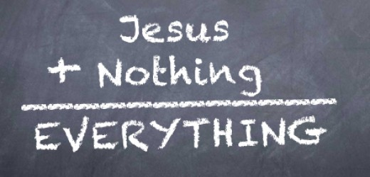 jesusnothingeverything