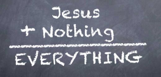 jesusnothingeverything