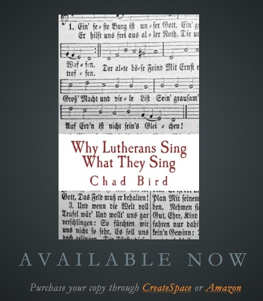 why lutherans sing adsmall