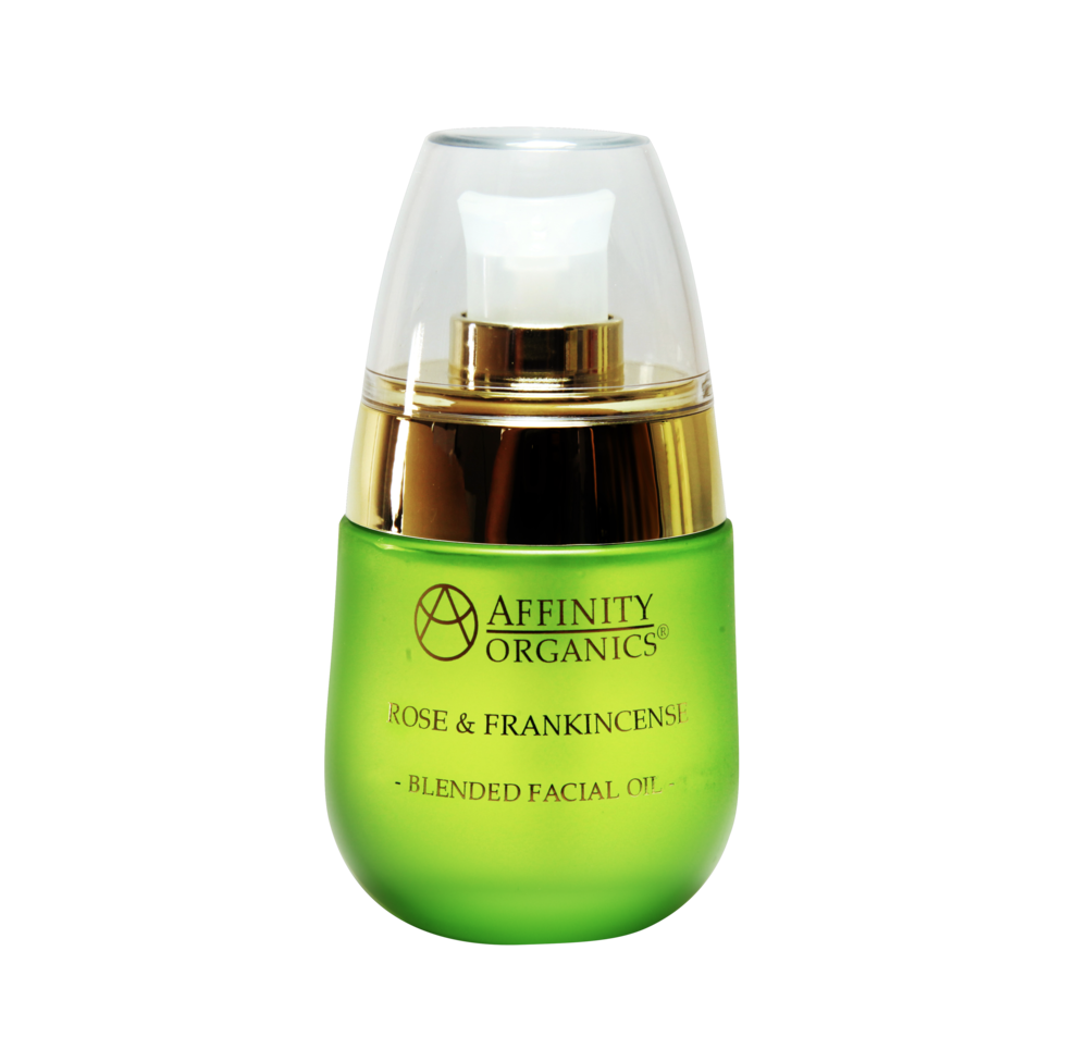 Rose & Frankincense 100% Organic Facial Oil -