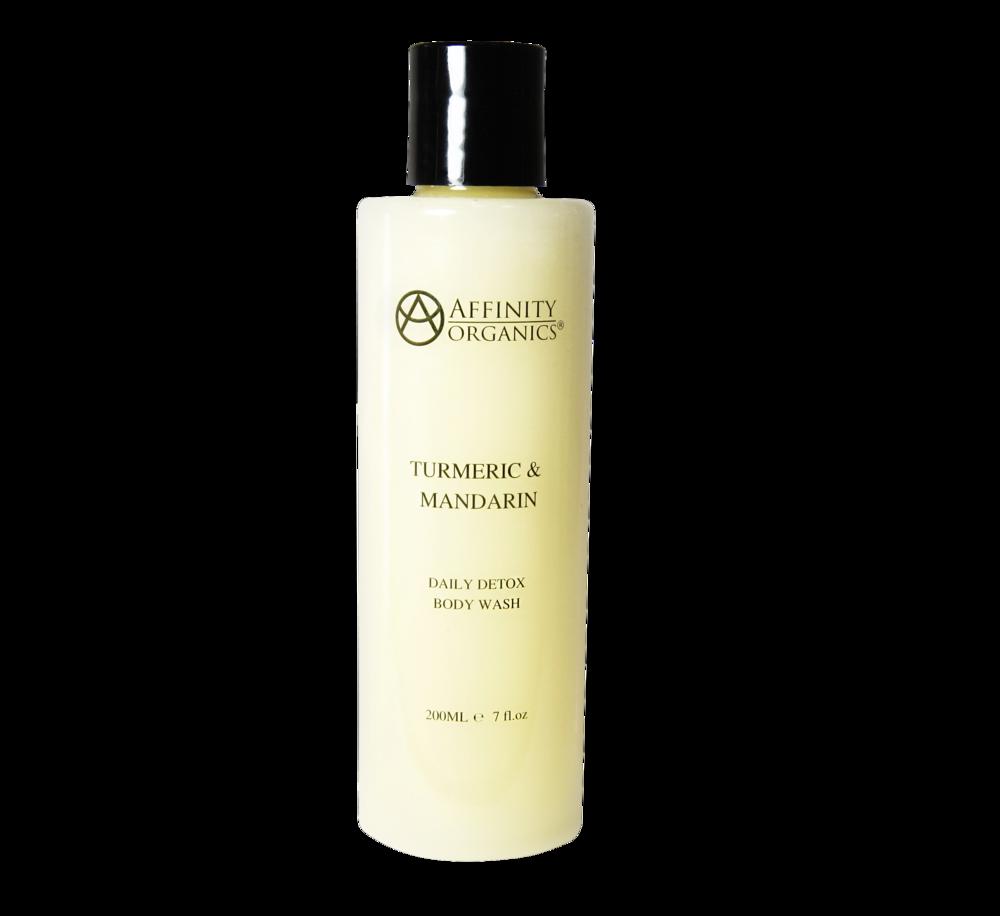 Turmeric & Mandarin Daily Detox Body Wash -