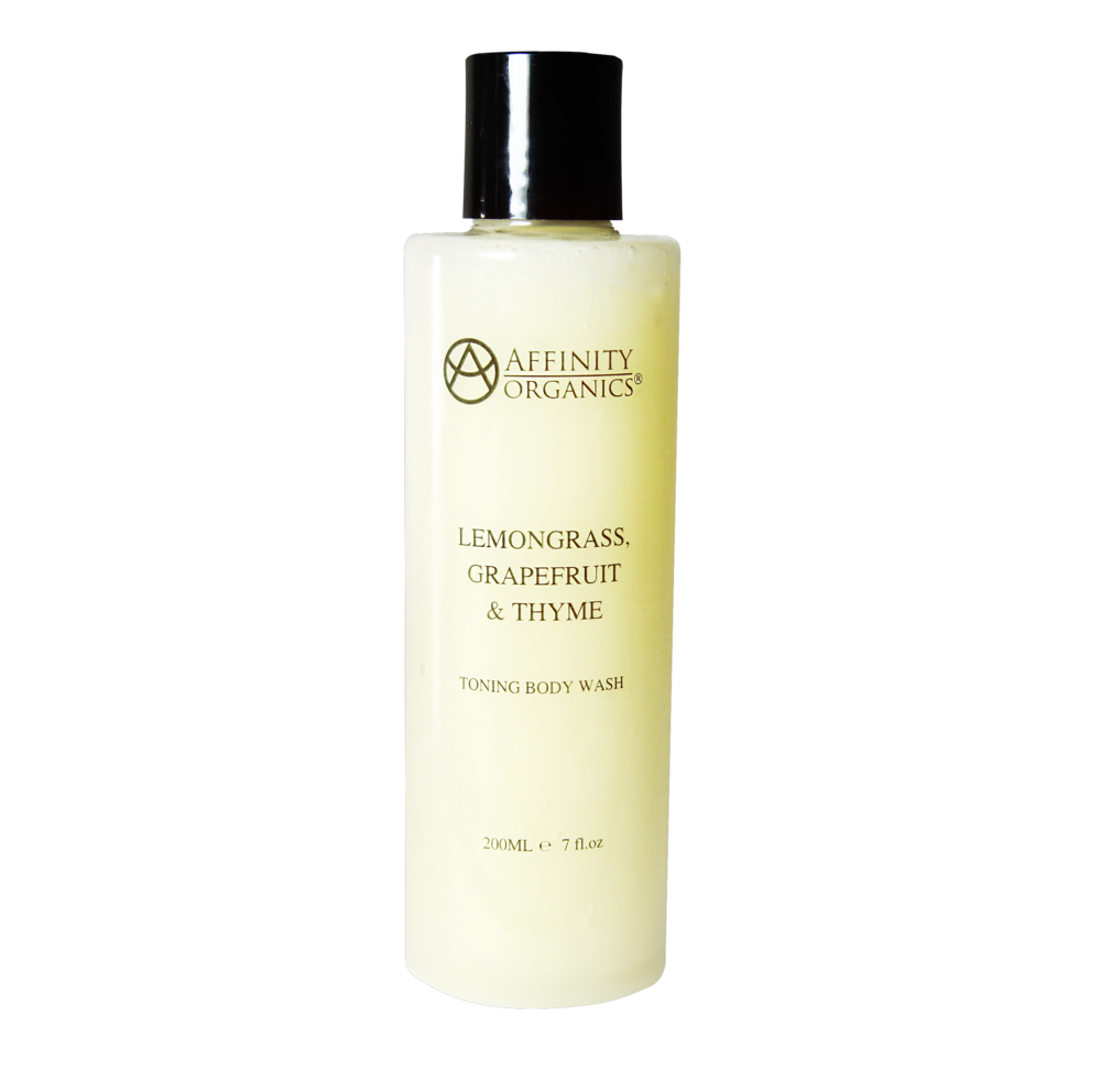 Lemongrass, Grapefruit & Thyme Toning Body Wash -