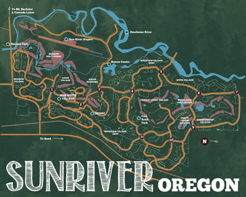 Sunriver, Oregon, 2015