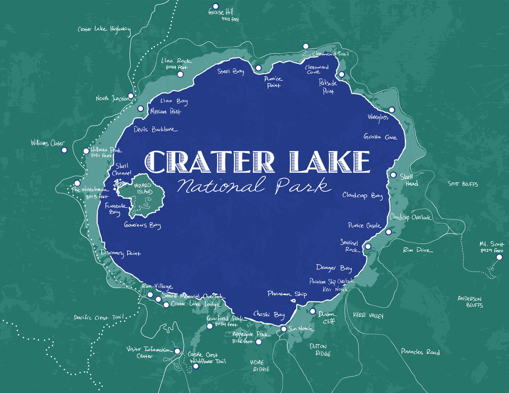 Crater Lake National Park, 2015