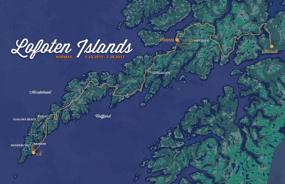 Lofoten Islands, Norway, 2017