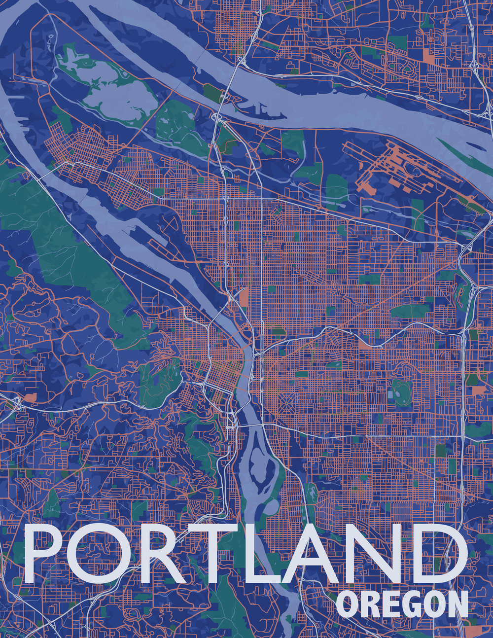 Portland, Oregon, 2018
