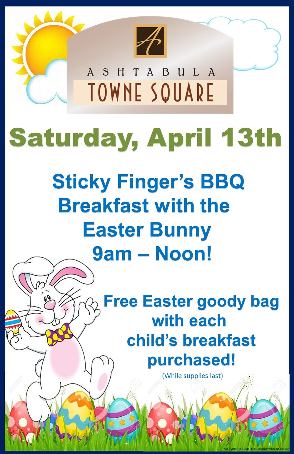 2019 Breakfast and Magic Show Easter Bunny ARRIVAL POSTER.jpg