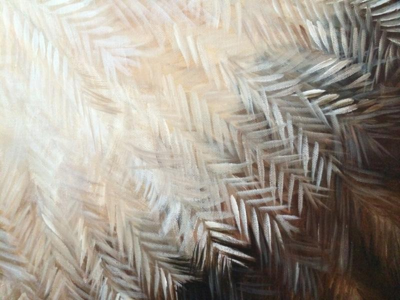 Owl Feather Detail