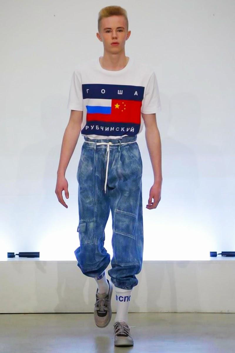 Gosha Rubchinskiy FW15 Menswear