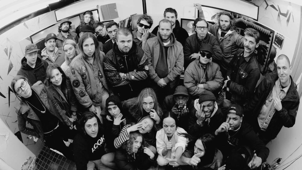 The cast and crew of KNOW WAVE Radio (photo: i-D)