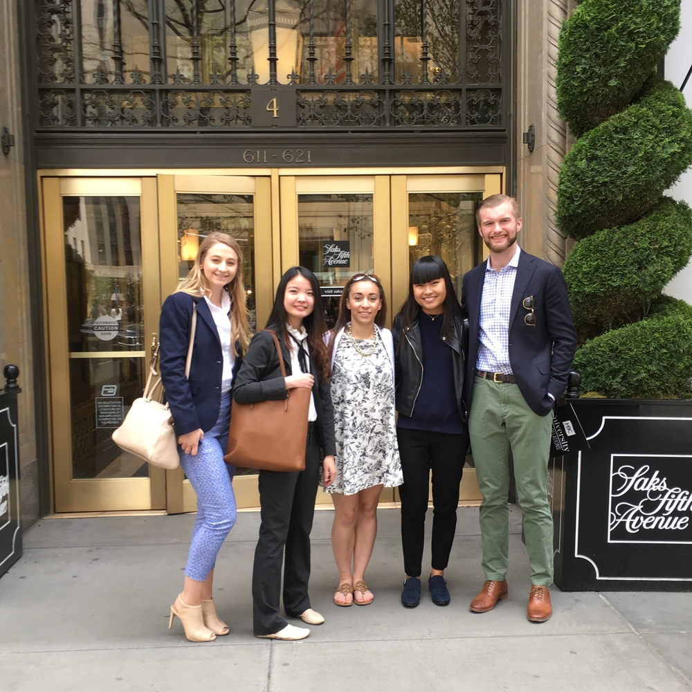 Part of the Saks immersion group (photo credit: two random French grandmothers who I brokenly asked pour prendre une photo)