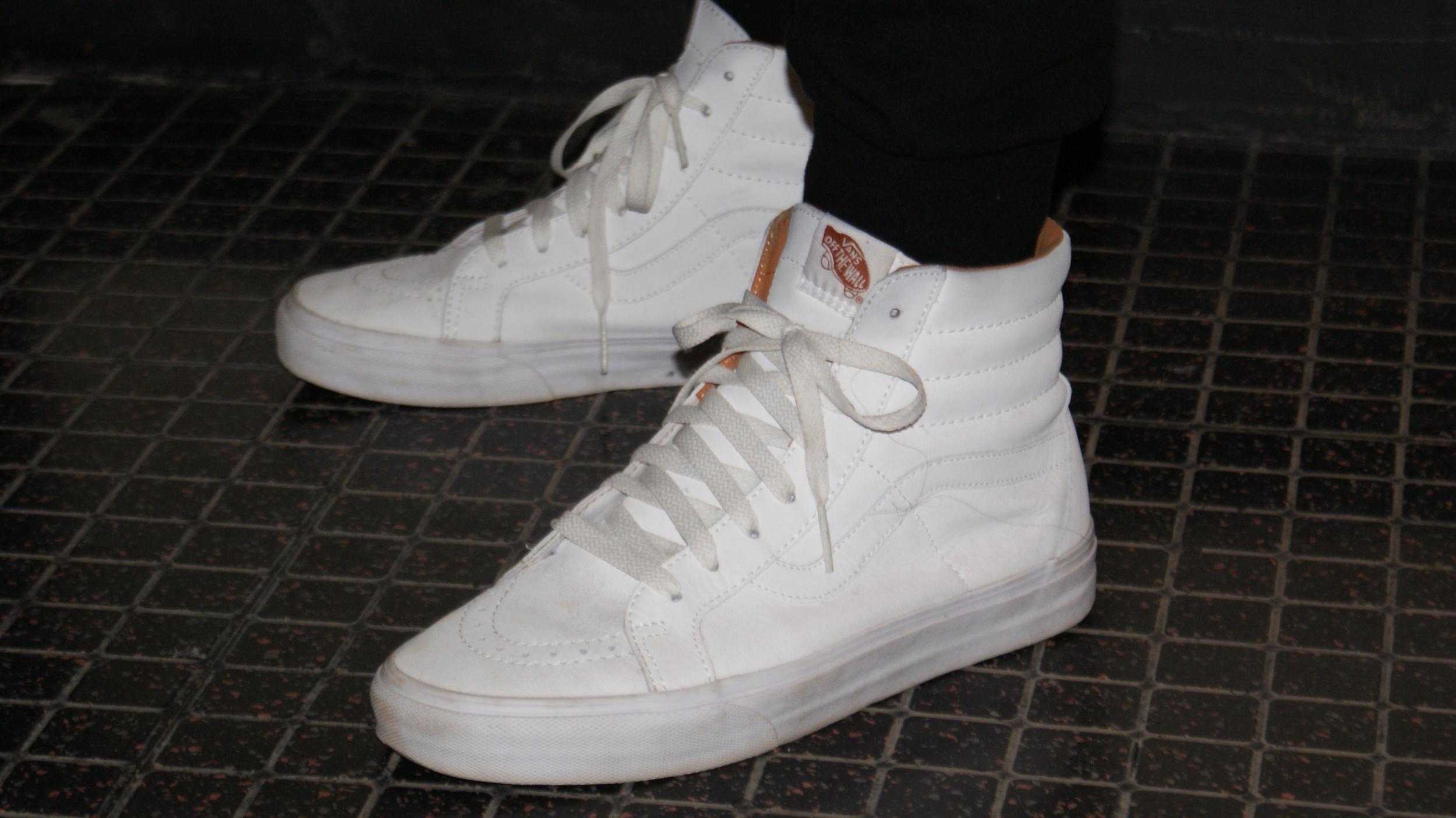 33bcdd285e Shoe Review  Vans Sk8-Hi