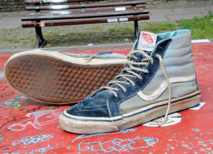 "Original Vans ""Style 38"" high-top skate shoes"