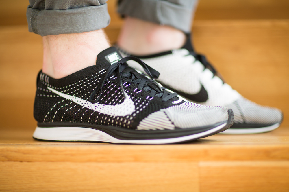 c5d41873cd9c My favoritest shoe. The Flyknit Racer is an Olympic marathon shoe  moonlighting as the coolest Nike shoe of the current era. With a two-tone