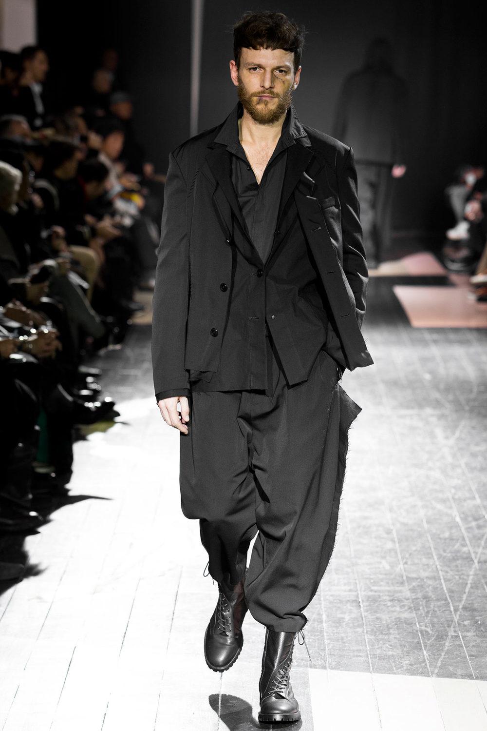This suit fits (Yohji Yamamoto FW14)