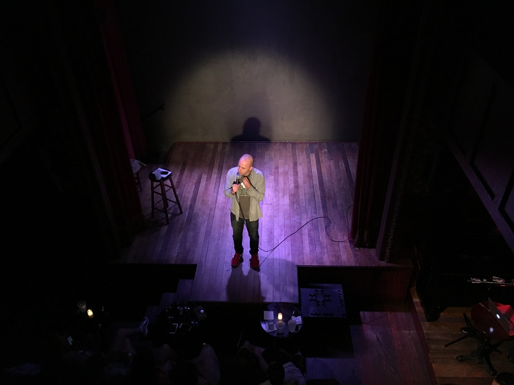 The Daily Show's own Adam Lowitt, performing live at The Slipper Room.