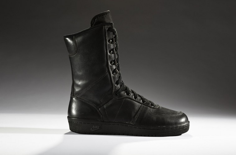 838d476b6c58fa Prototype Nike Special Field Boot - note the initial resemblance to the Air  Force 1 sneaker