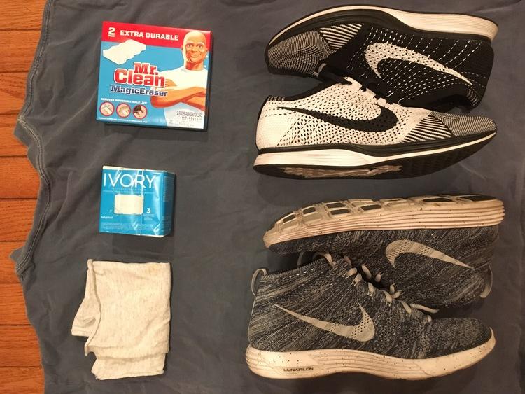 b873c082d5b3 Sneakers, top to bottom  Nike Flyknit Racer