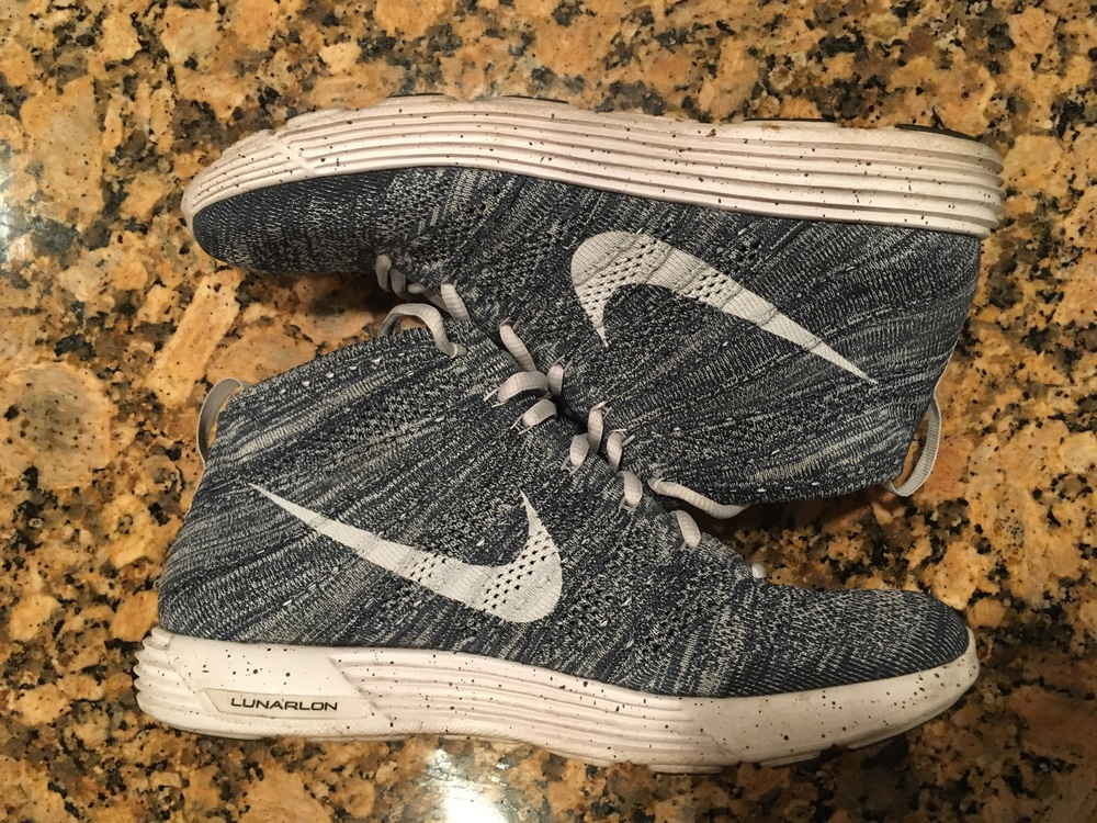 Nike Lunar Flyknit Chukka : Before