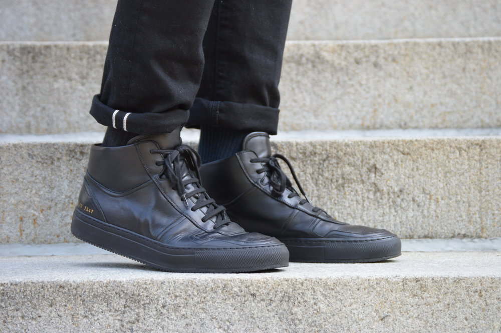 0ba2cd01ea7 Shoe Review  Common Projects BBall High (2015) — AS RAKESTRAW - The ...