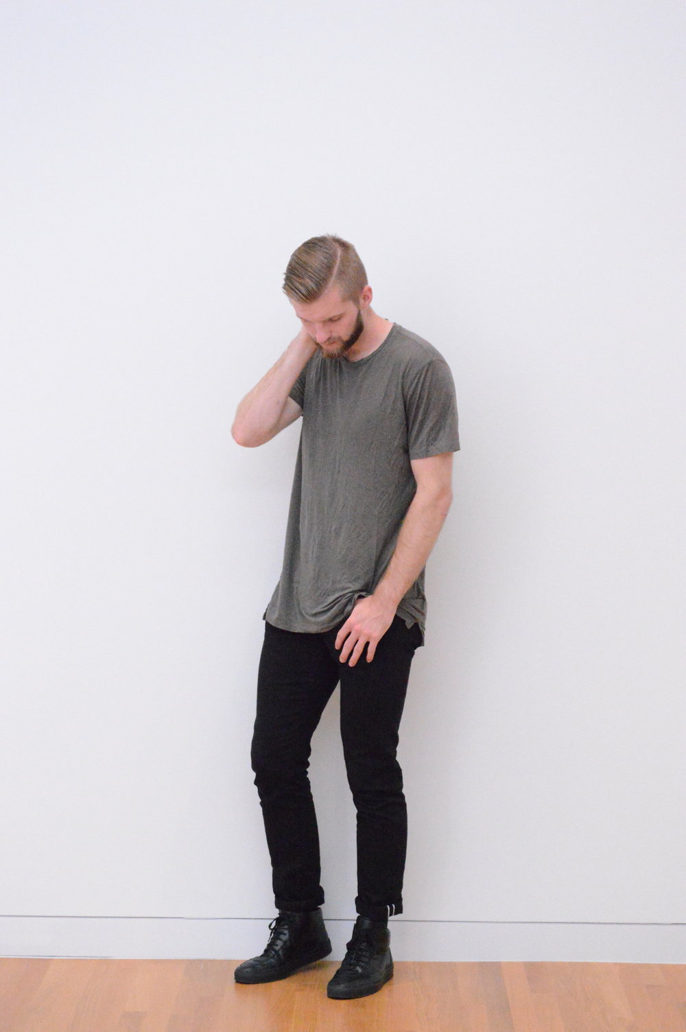 Allsaints / Uniqlo / Common Projects (photo: Kristen Eisenhauer)