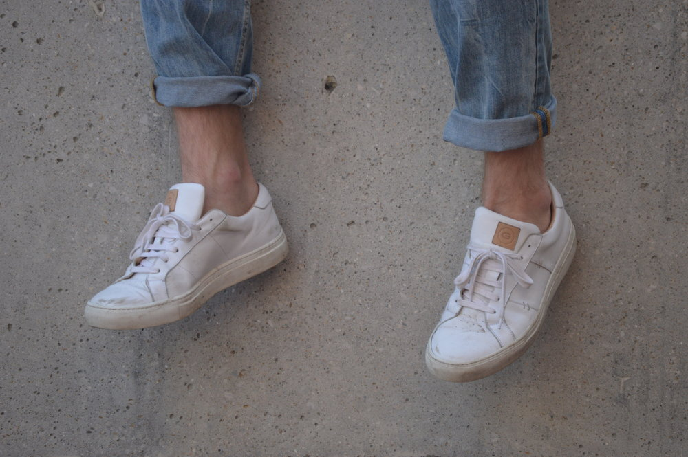 how to clean leather sneakers as rakestraw the
