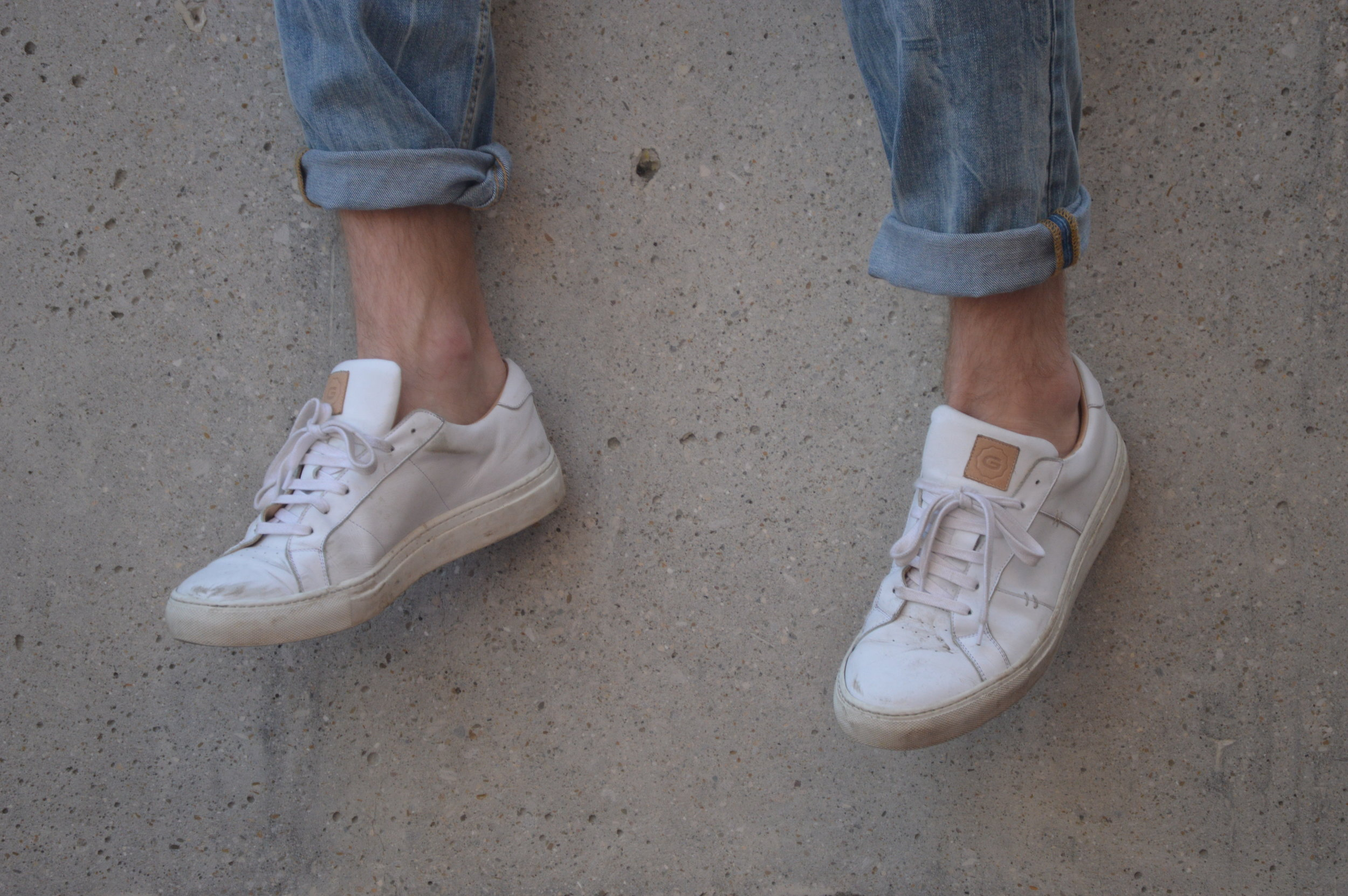 How to Clean Leather Sneakers — AS