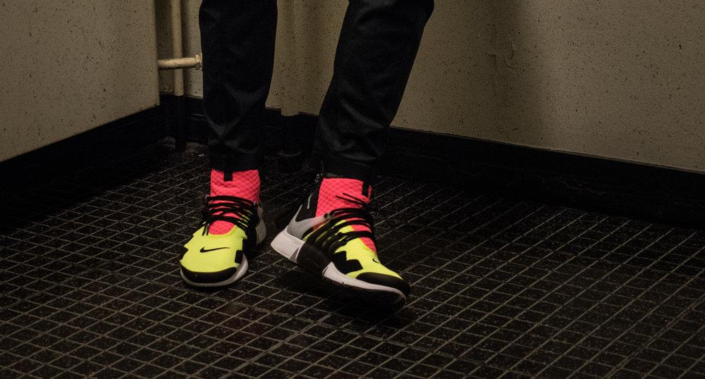 Nike x ACRNM Air Presto Mid