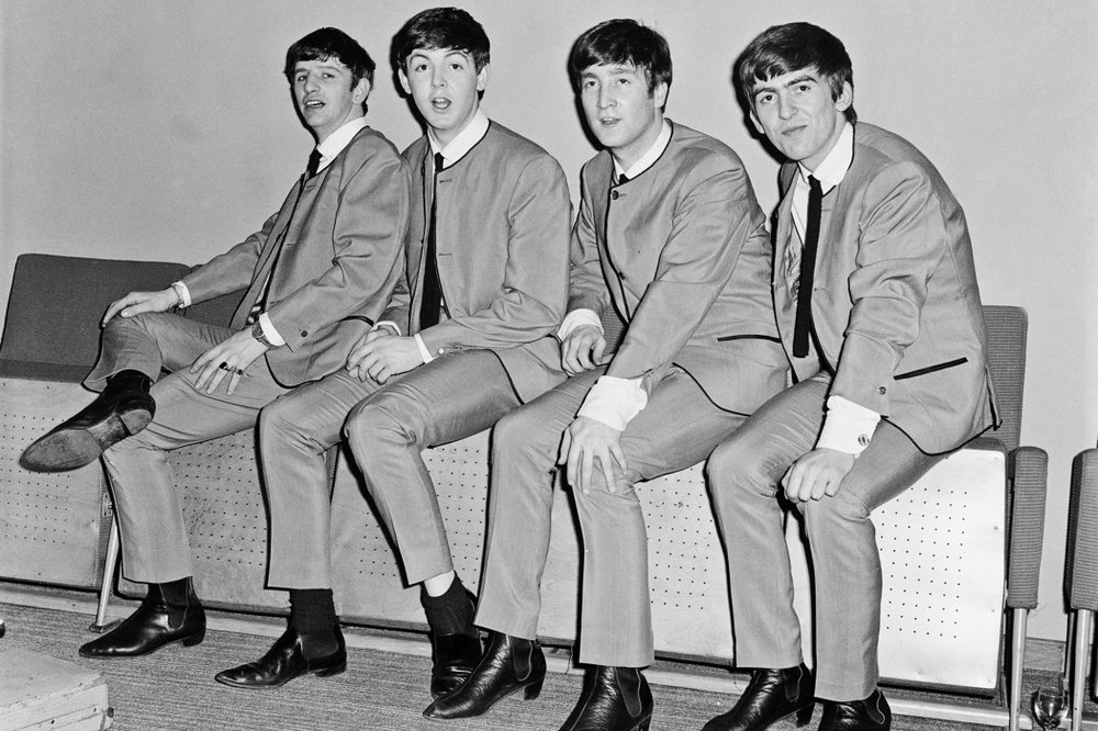 The Beatles photographed in Chelsea boots (source: GQ via  The Idle Man  blog)