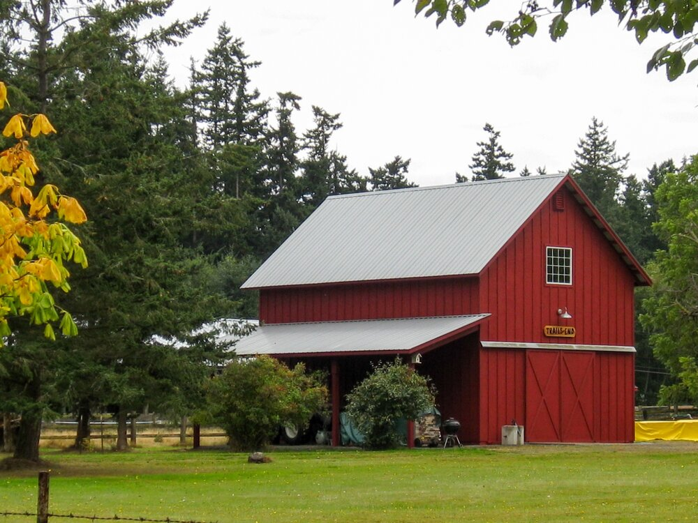 Barn #9  Texmo Pole Building by Alvord-Richardson Construction.  Serving Whatcom, Skagit, San Juan and Island Counties since 1965.  Give us a call for your free estimate today!