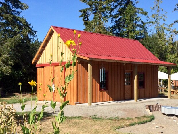 Barn #17  Texmo Pole Building by Alvord-Richardson Construction.  Serving Whatcom, Skagit, San Juan and Island Counties since 1965.  Give us a call for your free estimate today!