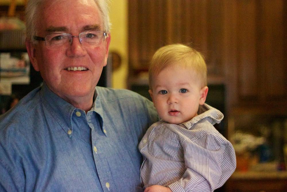 (photo: Dad & my son, Owen)