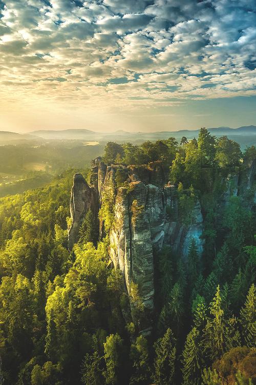 Elbe Sandstone Mtns, Germany | Rolf Nachbar