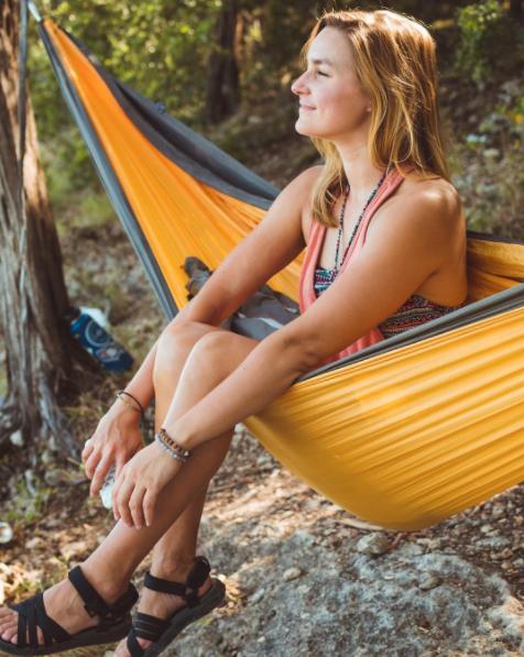 Meet Stephanie, hammock pro.