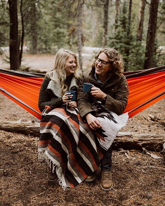 Real adventures in wild landscapes. These are the engagement sessions we'll get behind. @cedarandpines, we like your 📸 style.