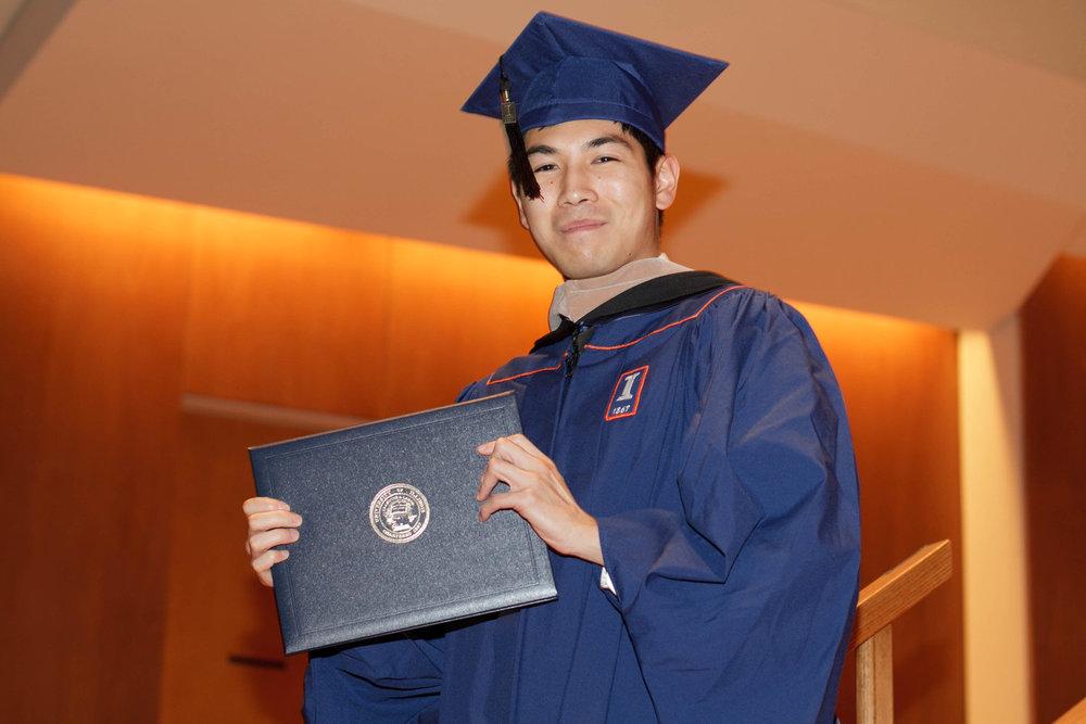 2012.12.15 - Jian's Graduation