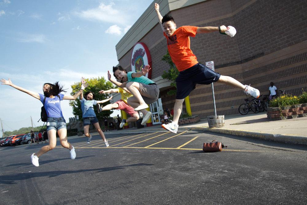 2013.07.20 - Slam Dunk Contest and 9th Grade Social 2013