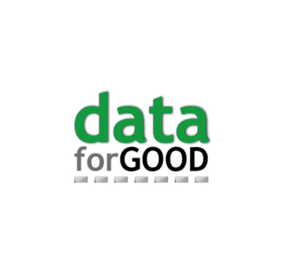 "Connecting leading data scientists with high impact social orgs  to advance ""data in the service of humanity""     T  ransparency + D  ata innovation + S  ocial R&D       #datadogooders  #yyc"